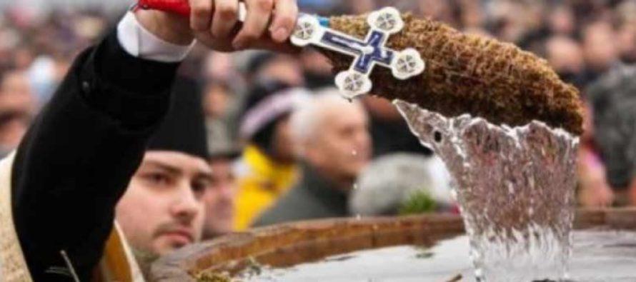 Aghiasma mare de Boboteaza se bea timp de opt zile in sir