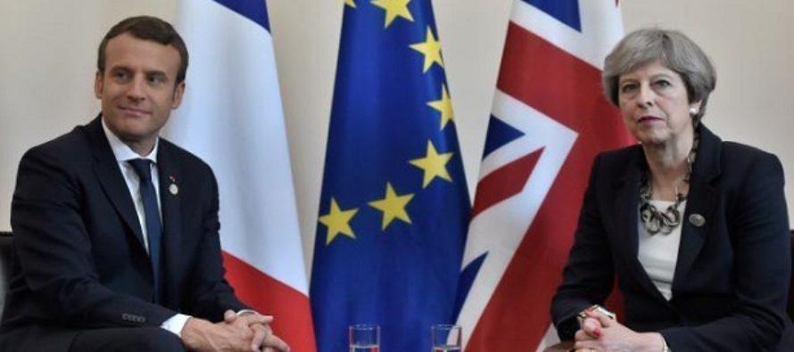 Acord intre Marea Britanie si UE dupa Brexit, anunta presedintele Macron