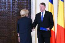 Premierul Dancila a avut o intalnire cu presedintele Iohannis la Palatul Cotroceni. Subiectul discutiilor a fost soarta Guvernului
