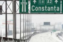 Infotrafic: Se circula in conditii de iarna pe autostrada A2 Bucuresti – Constanta, tronsonul Medgidia – Murfatlar – Constanta, si pe autostrada A4 Ovidiu – Agigea
