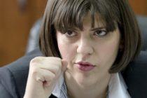 "Reactia Laurei Codruta Kovesi la intrebarea ""daca intentioneaza sa isi dea demisia"""