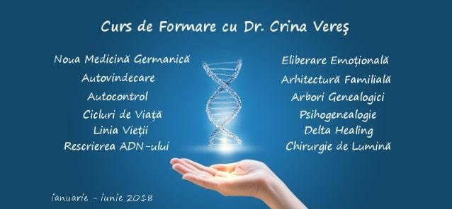 Curs de formare in Noua Medicina Germanica cu dr. Crina Veres...