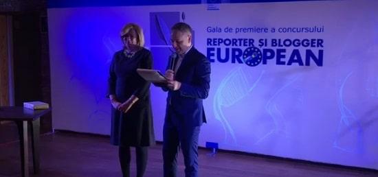 """Concursul """"Reporter si Blogger European"""", organizat de Reprezentanta Comisiei Europene in Romania, si-a premiat castigatorii"""