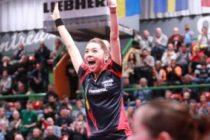 BERNADETTE SZOCS a castigat Liga Campionilor din tenisiul de masa feminin