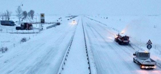 Autostrada Soarelui a fost inchisa pentru toate categoriile de vehicule pe ambele sensuri