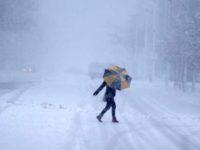 Vreme la extreme in Europa, in mai multe tari soferii au fost blocati de zapada
