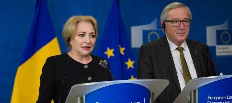 Premierul Dancila sustine ca Juncker i-a dat asigurari ca Romania va fi in Schengen pana la 1 ianuarie 2019