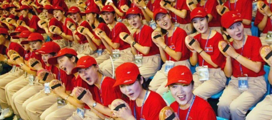 Cine plateste pentru majoretele nord-coreene prezente la festivitatea de deschidere a Jocurilor Olimpice de iarna de la Pyeongchang?
