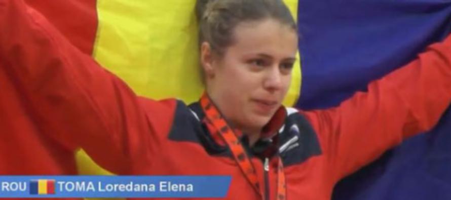 Romania a castigat patru medalii de aur si cinci de argint la Campionatele Europene de haltere