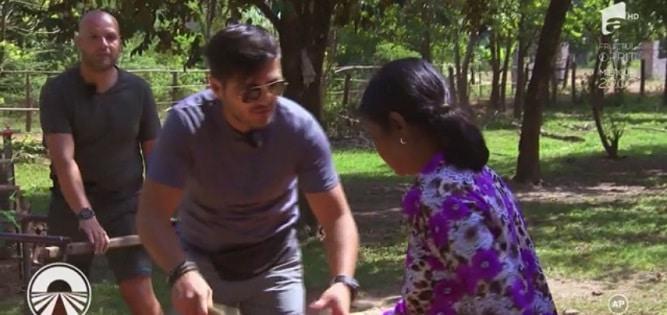 ASIA EXPRESS 19 MARTIE 2018. Live Antena 1. Varciu, Crudu, Vica si Lora - provocari extreme in Cambodgia