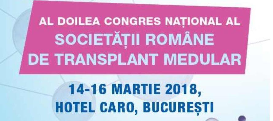 Congresul National de Transplant Medular din Romania va reuni cei mai experimentati specialisti in transplantul medular, intre 14 si 16 martie la Hotel Caro din Bucuresti