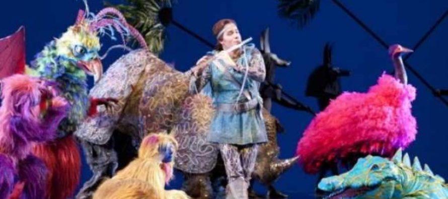 """Spectacolul """"Flautul fermecat"""" revine la Opera Nationala din Bucuresti"""