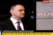 Un interviu cu Sebastian Ghita, difuzat simultan de patru televiziuni: trei de stiri si TVR