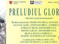 """Recital vocal instrumental""""Preludiul gloriei"""" in cadrul Festivalului""""Remember Enescu"""" de la Barlad"""