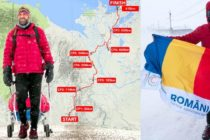 Tibi Useriu a castigat UltraMaratonul Arctic 6633 pentru a treia oara. Cu steagul Romaniei in mana, Tibi a fost intampinat de organizatori cu imnul national