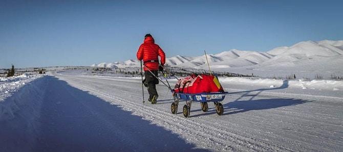 Tibi Useriu, Maratonul Arctic