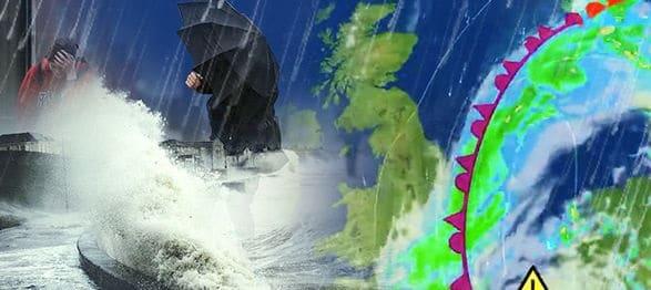 Alerta meteo in Marea Britanie de ploi torentiale si chiar ninsori. Londra, sub un val de aer polar venit din Rusia