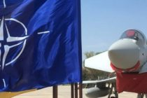 Avioane de vanatoare Eurofitgher Typhoon si 160 de militari din Royal Air Force (Marea Britanie) au revenit la baza Mihail Kogalniceanu din Constanta. FOTO