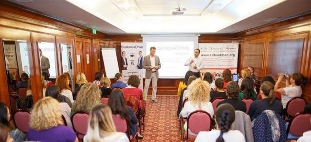 Elite Business Club organizeaza conferinte de business in Romania si la Londra cu scopul de a ajuta firmele sa evite insolventa si falimentul