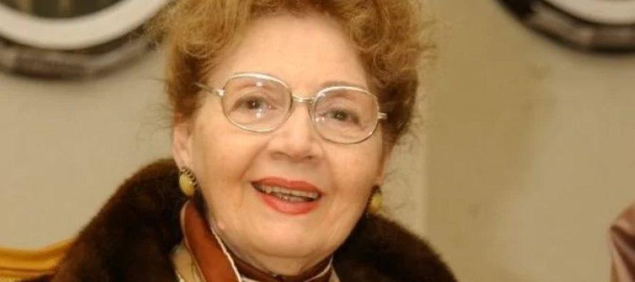 Actrita Carmen Stanescu a murit in noaptea de miercuri spre joi, a confirmat un reprezentant al Teatrului National din Bucuresti
