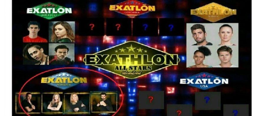 EXATLON INTERNATIONAL ALL STARS? Romania va participa cu cei mai buni concurenti
