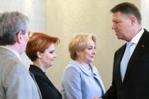 Presedintele Iohannis a discutat despre salarii si pensii cu premierul Dancila si cu ministrul Muncii: Majorarea salariilor nete este anulata de intensificarea inflatiei