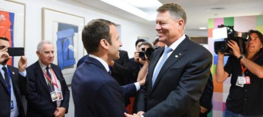 Presedintele Frantei saluta munca lui Iohannis in lupta anticoruptie: Saluta munca presedintelui roman, care nu isi lasa tara din mana
