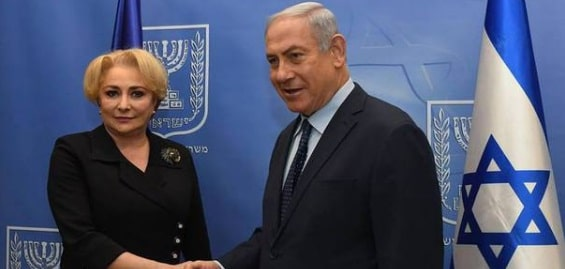Netanyahu si-a exprimat speranta, dupa intalnirea cu Dancila din Israel, ca Romania isi va muta ambasada la Ierusalim cat mai curand
