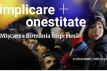 Tot mai multi romani se inscriu in partidul lui Ciolos – Miscarea Romania Impreuna