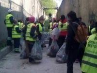 Pasajul Lujerului a fost curatat din nou de Primaria Sectorului 6