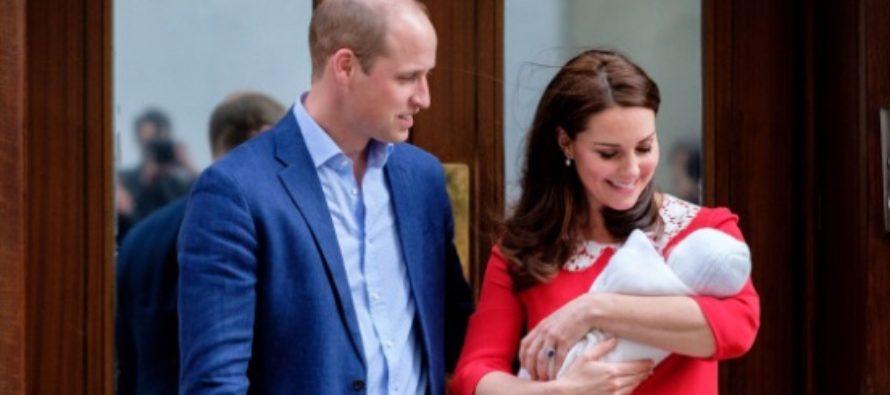 Bebelusul regal al Marii Britanii se numeste Prince Louis Arthur Charles de Cambridge