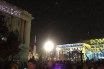 "Protest prin mesaje la festivalul Spotlight: ""MAI – Ministerul Apararii Infractorilor"", ""Rezist"" si ""Va vedem"""