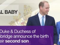 Al treilea bebelus regal este baiat! Kate Middleton a nascut un baietel perfect sanatos la St Mary's Hospital