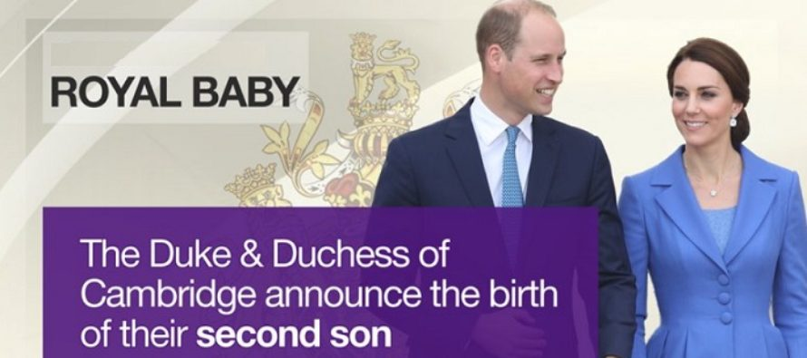Al treilea bebelus regal este baiat! Kate Middleton a nascut un baietel perfect sanatos la St Mary's Hospital