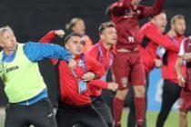 CFR Cluj a castigat titlul de campioana a Romaniei la fotbal, dupa ce a invins echipa FC Viitorul Constanta
