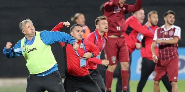 CFR Cluj a castigat titlul de campioana a Romaniei la fotbal, dupa ce a invins echipa FC Viitorul Constanța