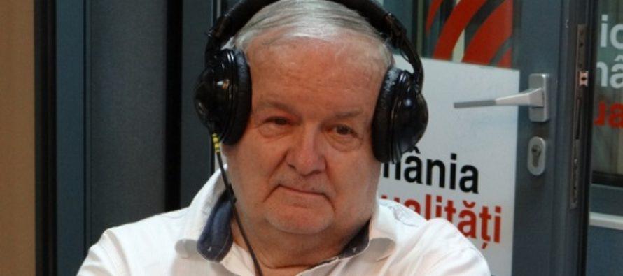 A murit Cristian Topescu. Fostul comentator sportiv avea 81 de ani si a decedat la Spitalul Elias