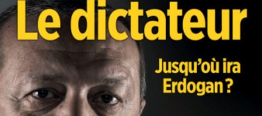 """Le Point denunta campania de presiuni impotriva redactiei dusa de simpatizantii lui Erdogan, dupa ce a publicat un documentar intitulat """"Dictatorul – cat de departe va merge Erdogan?""""."""