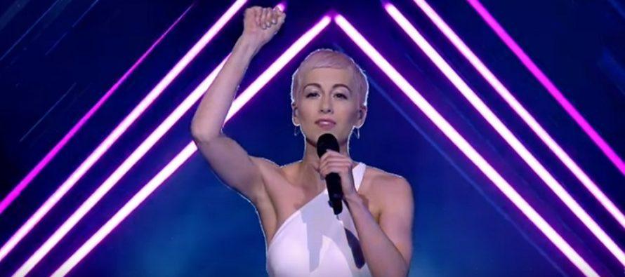 Incident la Eurovision 2018 cu reprezentanta Marii Britanii. VIDEO