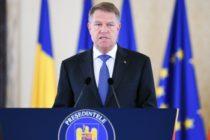 Presedintele Iohannis a trimis la reexaminare in Parlament Legea privind organizarea judiciara