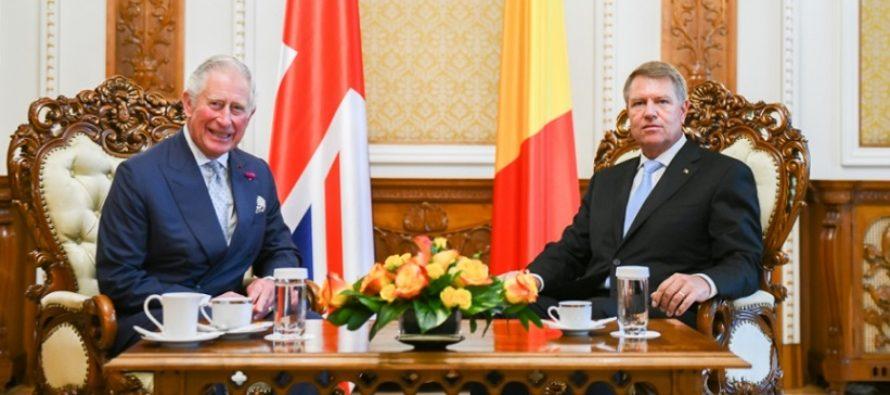 Printul Charles s-a intalnit cu presedintele Iohannis la Palatul Cotroceni. Ce s-a discutat