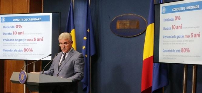 Guvernul aproba un program prin care va acorda credite fara dobanda cu scopul de a-i incuraja pe romani sa ramana in tara. Beneficiari si conditii de accesare