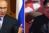 Vladimir Putin l-a invitat pe Kim Jong Un sa viziteze Rusia in luna septembrie