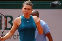 SIMONA HALEP s-a calificat pentru a treia oara in finala de la Roland Garros dupa ce a depasit-o in semifinale pe Garbine Muguruza