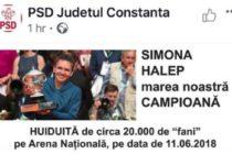 Liviu Dragnea l-ar fi dat afara pe coordonatorul online al PSD George Harabagiu, dupa colajul foto potrivit caruia Halep ar fi fost huiduita pe Arena Nationala