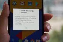 Testarile sistemului RO-ALERT au inceput prin verificarea transmiterii mesajelor de avertizare catre anumite celule de telefonie mobila din Bucuresti
