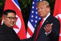 "Intalnire istorica intre Donald Trump si Kim Jong Un la Singapore. Intr-o declaratie comuna, cei doi se se angajeaza sa actioneze ""in vederea denuclearizarii complete a peninsulei coreene"""