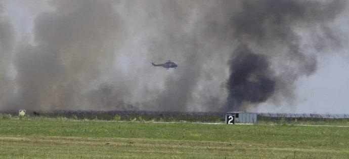Un avion MIG 21 Lancer s-a prabusit la baza aeriana 86 Borcea. Pilotul Florin Rotaru, incadrat la Baza 86 Aeriana Fetesti, a murit