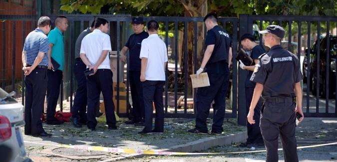 Explozie langa Ambasada SUA din China in urma detonarii unei bombe