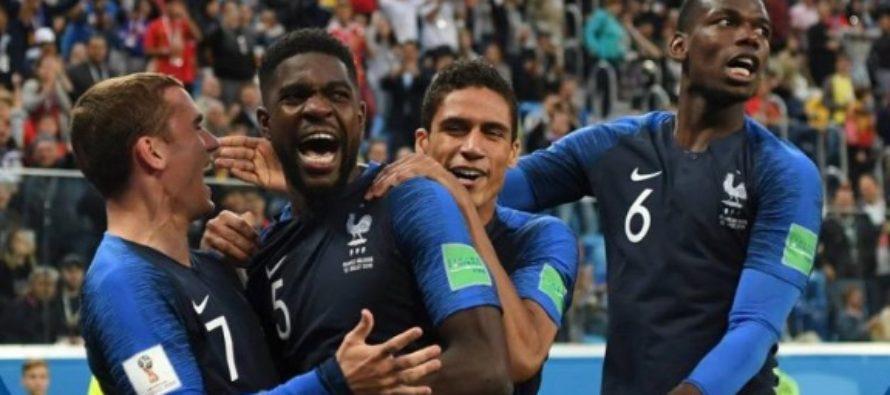 Franta – Belgia 1-0! Franta s-a calificat pentru a treia oara in finala Campionatului Mondial, dupa un gol inscris de Samuel Umtiti